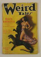 Weird Tales Vol 25 #1 Jan 1935 Pulp Magazine Robert Bloch 1st Published Story