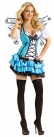 Turquoise Fairy Adult Womens Costume Sexy Tutu Skirt Theme Party Halloween