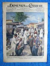 La Domenica del Corriere 17 giugno 1939 Albania - Thetis - Palazzo Venezia Roma