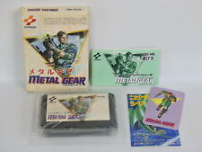 Famicom METAL GEAR GOOD Condition Ref/0811 Nintendo fc