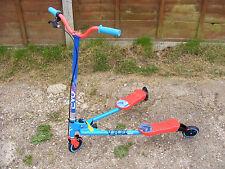 Evo Evo Garçons Enfants 3 Roues V-Flex Push Scooter