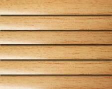 New Venetian Blind Aluminum Timber brown wood effect  Width 96 cm x Drop 104 cm