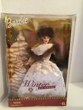 Barbie Doll Winter Classic Blonde Hair Special Edition 2001