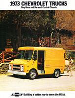 1973 Chevrolet Chevy Step-Van and Forward Control Original Truck Sales Brochure