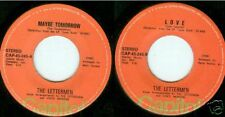 "Philippines Lettermen Maybe Tomorrow 45 RPM 7"" Love"