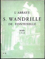 L'ABBAYE SAINT WANDRILLE DE FONTENELLE - Noël 1960 n°10