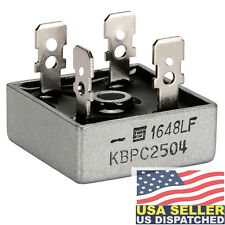 SOLID STATE KBPC2504 - Bridge Rectifier Diode, Single, 400 V, 25A, Module, 25 A