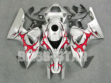 Pattern Red INJECTION Fairing Kit Fit Set Honda CBR1000RR 2006-2007 125 B7