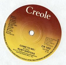 """Ruby Winters - Come To Me 7"""" Single 1978"""