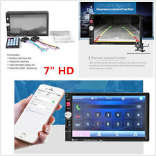 12V HD 7'' Touch Screen 2Din Car MP3 MP5  AUX Player Bluetooth Stereo Radio Kit