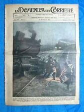 La Domenica del Corriere 21 gennaio 1923 Dublino - De Rahm - Francia-Belgio