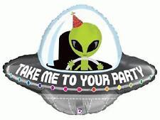 """29"""" pellicola super-FORMA BALLOON """"Portatemi dal vostro partito"""" Astronave aliena incontro"""