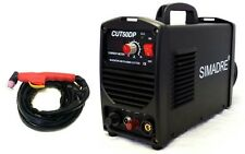 "Plasma Cutter Pilot Arc 50 Amp 110/220V 1/2"" Clean Cut Easy Simadre 50DP"
