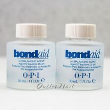 LOT 2 OPI BONDAID 1 fl oz 30 ml pH Bond Aid Balancing Agent GelColor Gel Polish