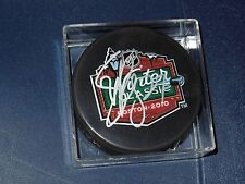 Bruins Steve Begin  Autographed Puck