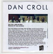 (FL140) Dan Croll, Hello My Baby - DJ CD