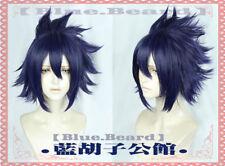 My Hero Academia Boku no Hiro Akademia Tamaki Amajiki Cosplay Wig Blue Purple FF