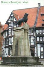 The Braunschweiger Löwe, Brunswick Lion, Statue Braunschweig Germany -- Postcard