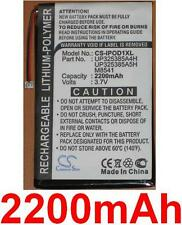 Battery 2200mAh type P325385A4H for Apple iPod 2nd generation (16GB)
