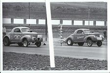 "1970s Drag Racing-1940 Willys Coupe-""HESITATION""-C/Gas-S&W SPEED SHOP"