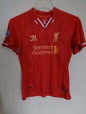 Vintage Warrior Chongo Liverpool F.C. Football Club Jersey Size Women 26 Medium
