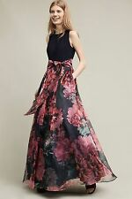 Blooming Bow Dress Moulinette Soeurs Size 6 NWT Maxi Gown