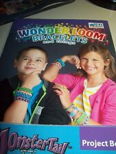 Wonder Loom Bracelets and Things Project Book - Lots of designs - NEW - Nice