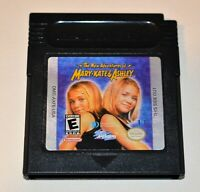 THE NEW ADVENTURES OF MARY-KATE & ASHLEY NINTENDO ORIGINAL GAMEBOY COLOR GB GAME