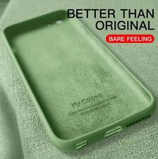 Thin Soft Case For iPhone 7 8 6 6s Plus 5S 4 Original Liquid Silicone
