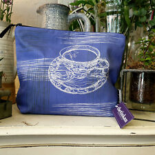 Violet Femme Teacup & Saucer Travel Beauty Make Up Washbag created by thetinkan