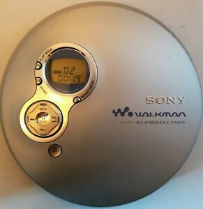 Sony Walkman D-EJ751  Portable CD Player w/G Protection - (Player ONLY) - TESTED
