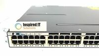WS-C3750X-48P-L - Cisco Catalyst 3750X 48 Port Full PoE LAN Base with 715W AC