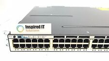 WS-C3750X-48PF-S - Cisco Catalyst 3750X 48 Port Full PoE IP Base with 1100W AC