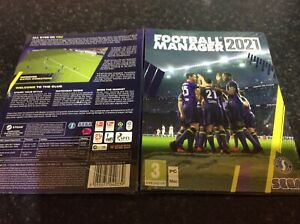 New And SEALED Football Manager 2021 Game PC / Mac EFL NEW