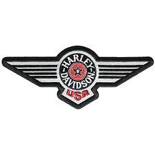 """Harley-Davidson Aufnäher / Emblem """"FAT BOY REFLECTIVE"""" Patch *EM753823*"""