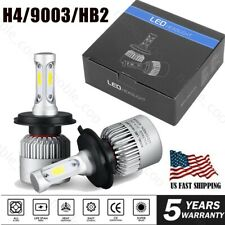 CREE H4 9003 HB2 LED Headlight Kit 5500W 520000LM Hi/Lo Beam Light Bulbs 6000K