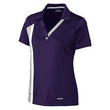 Cutter & Buck Annika Ladies CB DRYTEC™ S/S Janna Purple Polo