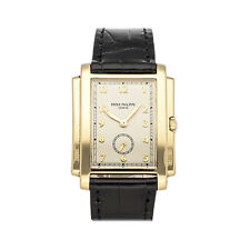 Patek Philippe Gondolo Manual Yellow Gold Mens Strap Watch 5024J-010