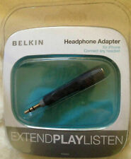 Belkin Headphone Earphone Adapter for iPhone Android with earphone jack
