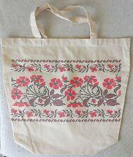 Ukrainian - Embroided Calico Bags
