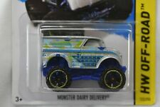Hot Wheel 1:64 2014 HW Off-Road MONSTER DAIRY DELIVERY