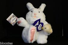 Francesca & Co. (Hoerlein) BENNY BUNNY WITH CHICK 1987 Rabbit Plush Toy Doll NEW