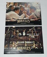"Jackie Chan ""Miracles"" Anita Mui Yim-Fong HK 1989 Set of 6 Lobby Cards"