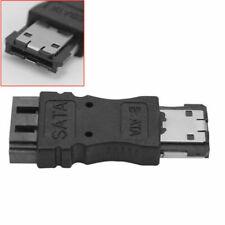 SATA Female Jack to ESATA Male Plug Convert Adapter Bl Drive W8T5 Convertor B0P8
