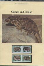 WWF, WNF Kapitel - Geckos und Skinke, KAP VERDE   1986
