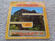 Duo Los Ahijados Vol. 5 Vinyl LP Records