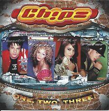 Ch!pz (Chipz)  – One, Two, Three!     cd single in cardboard