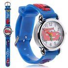 Cartoon Enfant Petits garçons enfants quartz analogique montre-bracelet