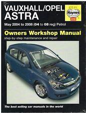 VAUXHALL / OPEL ASTRA 1.4 1.6 1.8 PETROL 2004-08 WORKSHOP MANUAL *HARDBACK NEW*