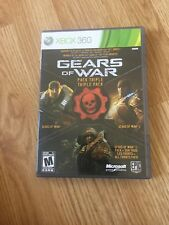 Gears Of War Triple Pack Xbox 360 Cib Game Complete XP1